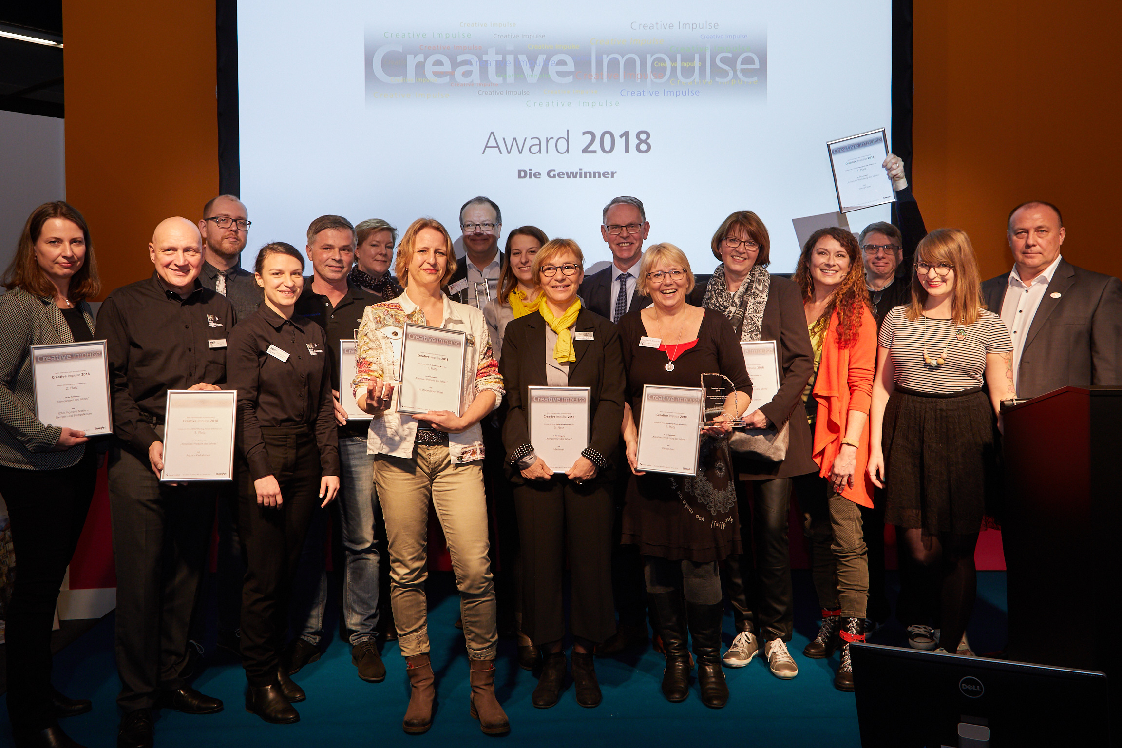 Creative Impulse Award Gewinner 2018
