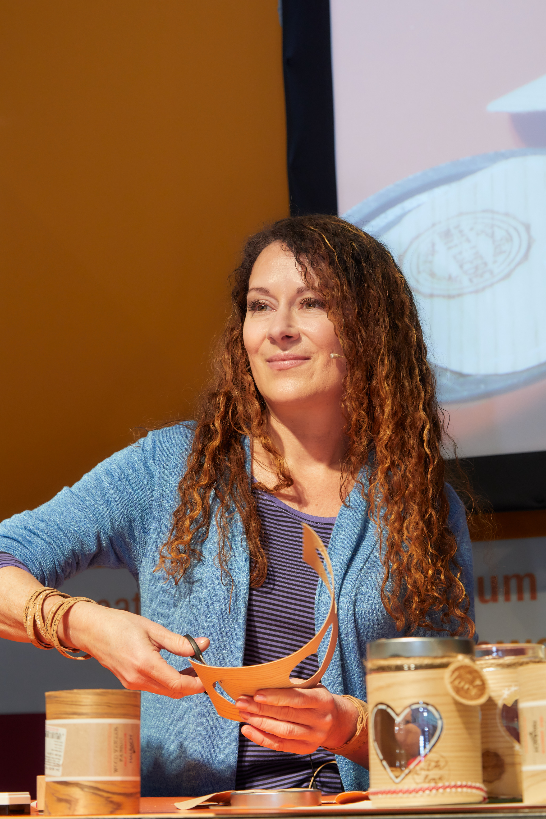Martina Lammel, DIY-icon and TV host/DIY-Ikone und TV Moderatorin