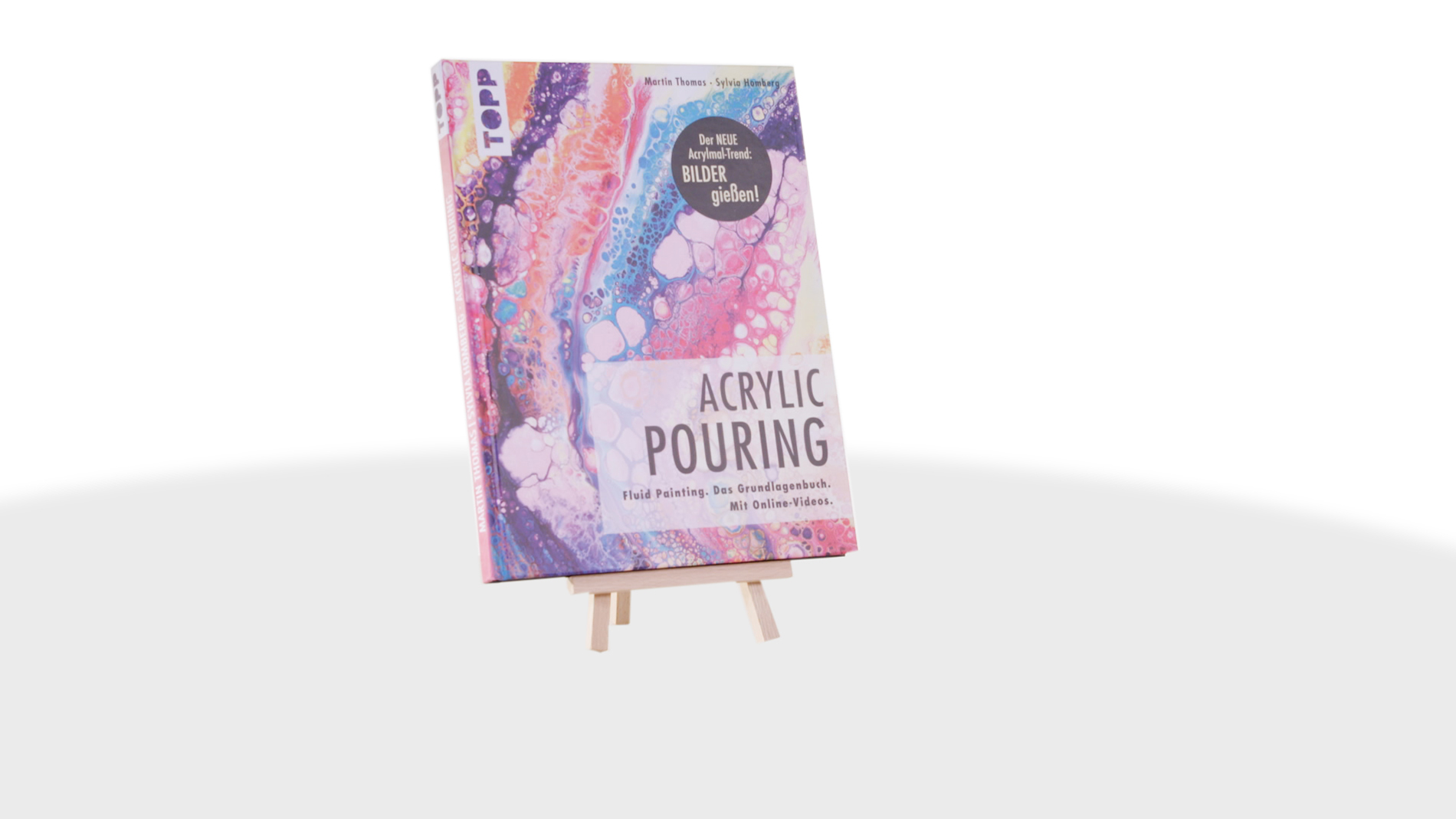 Creative Impulse Award 2nd place: frechverlag 'Acrylic Pouring'
