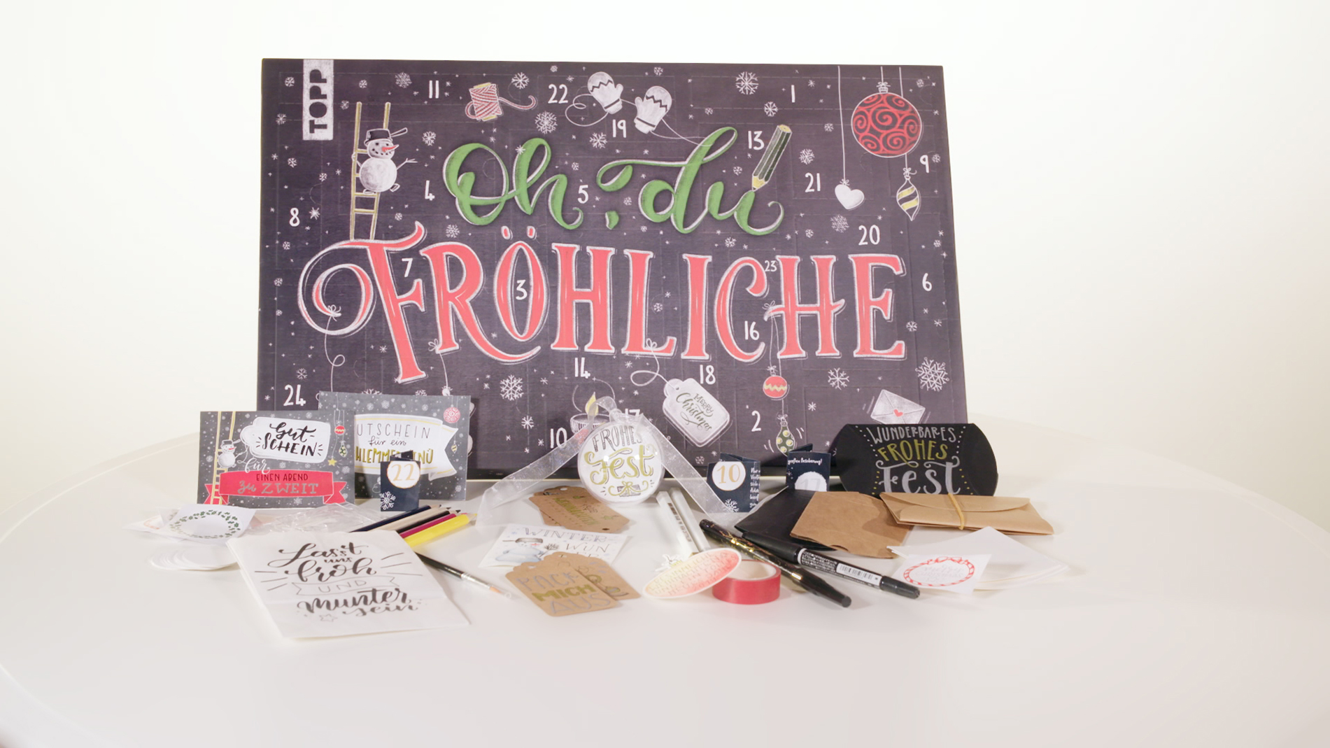 Creative Impulse Award 2nd place: frechverlag 'Handlettering Advent Calendar'