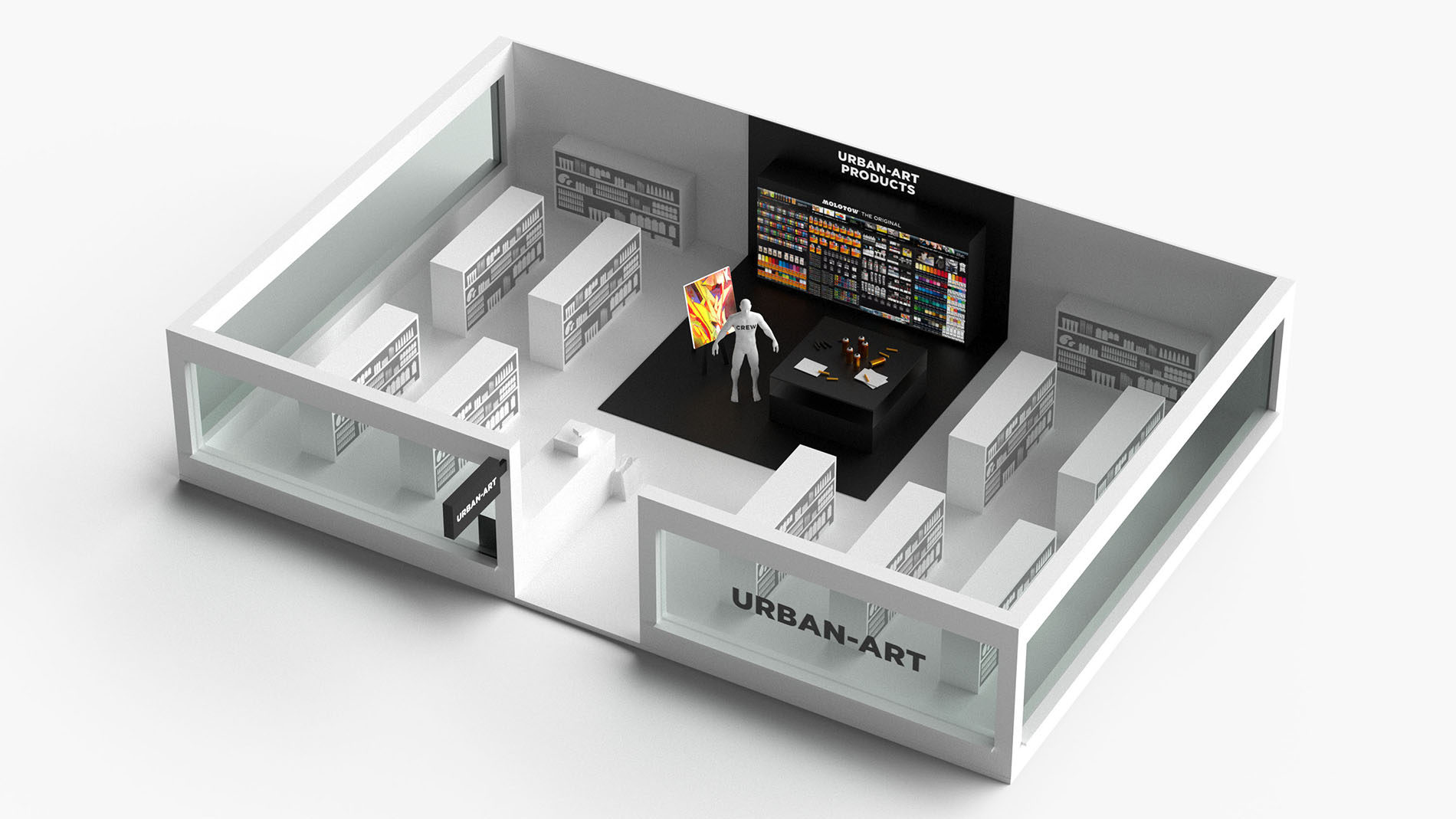 Graphic of the special show 'Specialist retail concept 4.0 – Upgrade your store'