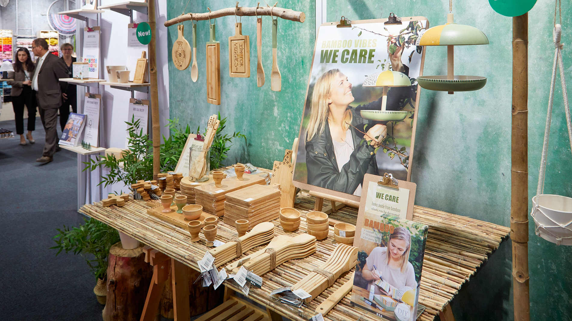 sustainable products made of wood at Creativeworld