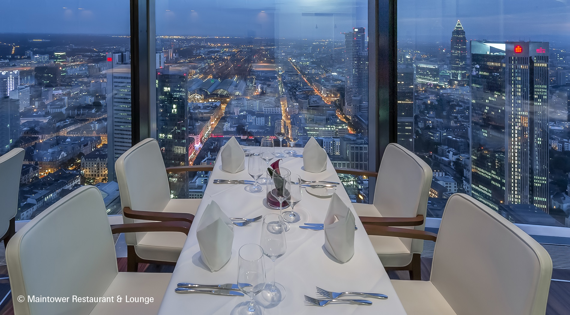 Maintower Restaurant & Lounge in Frankfurt